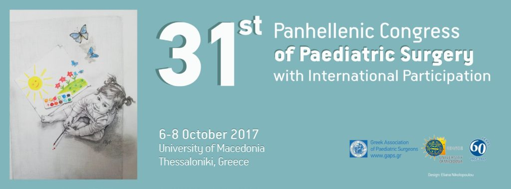 31st Panhellenic Congress of Paediatric Surgery