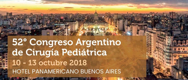 52° Congreso Argentino de Cirugía Pediátrica