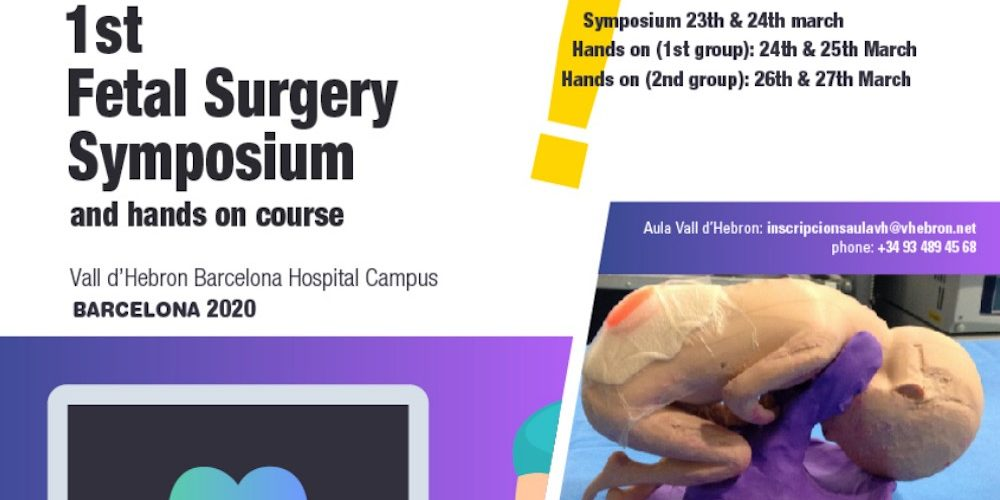 1st Fetal Surgery Symposium and hands on course